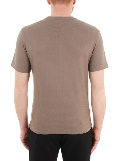 Emporio Armani  Bisiklet Yaka % 100 Pamuk T Shirt Erkek T Shırt 3K1T7Q 1Jm9Z 0118 Vizon